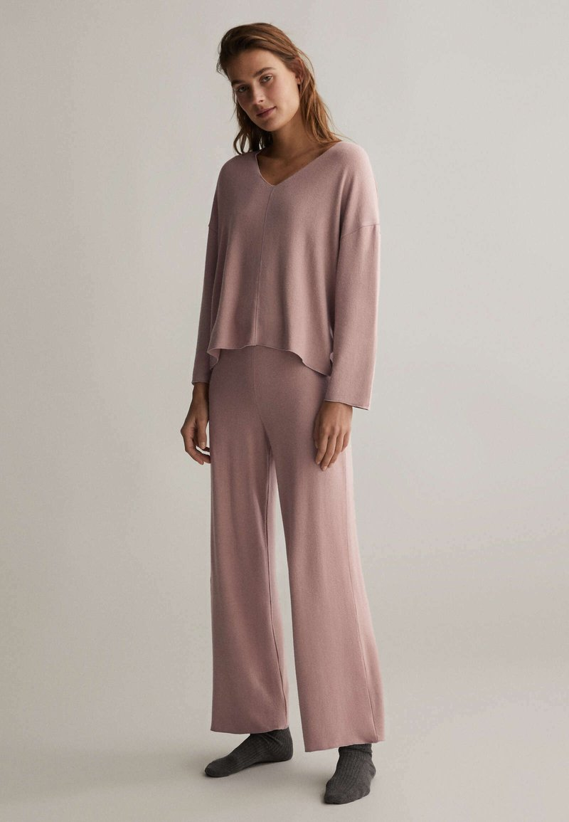 OYSHO - Pyjama bottoms - mauve
