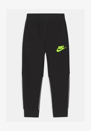 LOGO GRAPHIC - Tracksuit bottoms - black