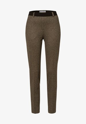 LILLYTH - Trousers - camel