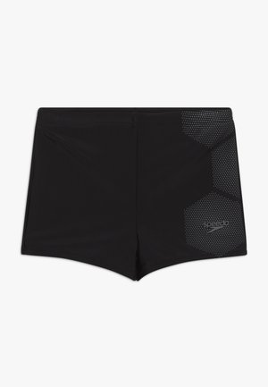 TECH - Swimming trunks - black/ardesia