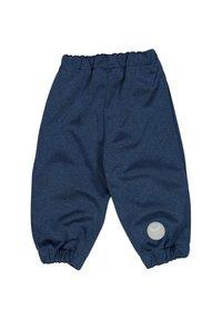 Wheat - Trousers - blue melange - 1