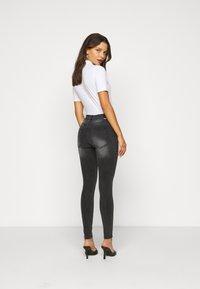 Dr.Denim Petite - PLENTY - Jeans Skinny Fit - iron black - 2
