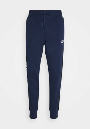 Tracksuit bottoms - midnight navy/black/white