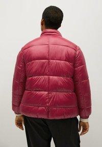 Violeta by Mango - MIT SEITLICHEN ZIPPERN - Winter jacket - fuchsia - 2