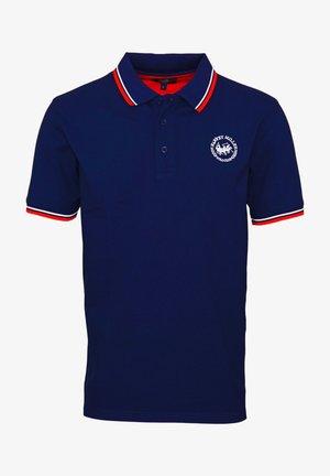Polo shirt - navy blazer