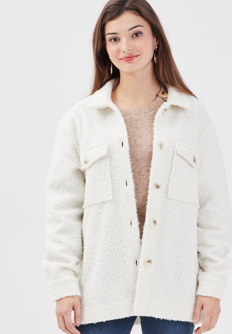 Cache Cache - Fleece jacket - ecru