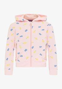 myMo KIDS - Zip-up sweatshirt - hellrosa - 0
