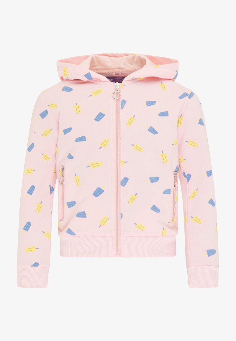 myMo KIDS - Zip-up sweatshirt - hellrosa
