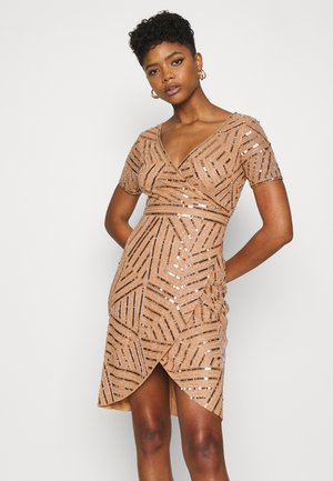 LEYLANI DRESS - Cocktailjurk - gold