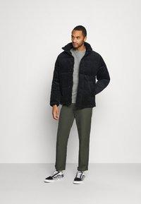 Topman - PUFFER - Winter jacket - navy - 1