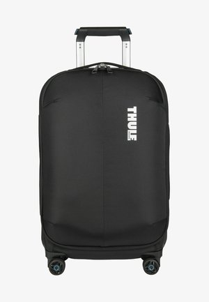 SUBTERRA CARRY ON SPINNER - Wheeled suitcase - black
