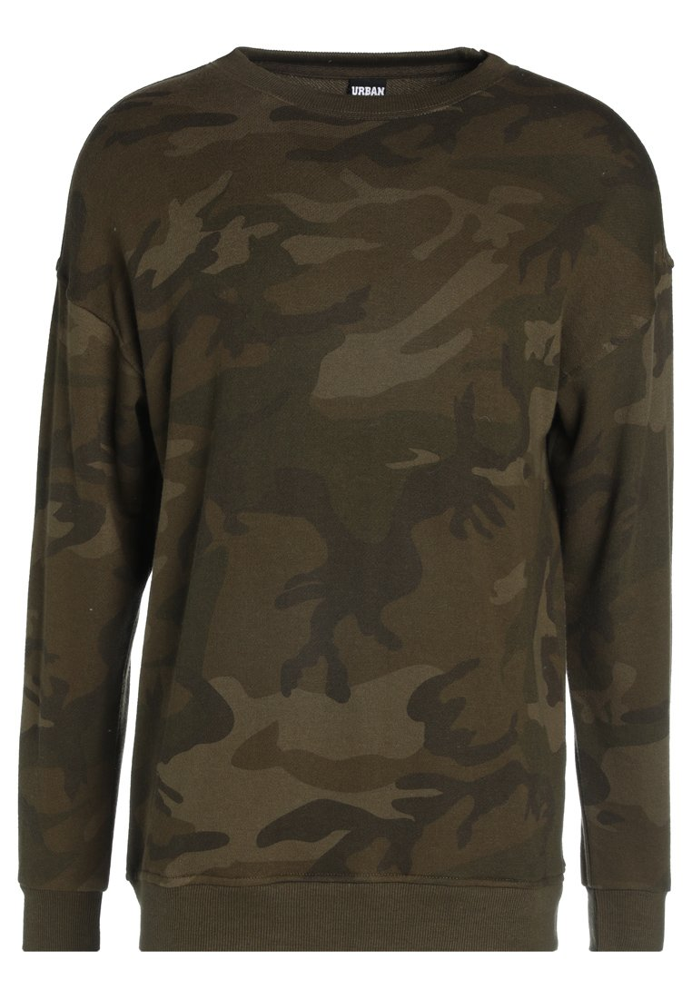 Urban Classics CAMO Sweatshirt olive Zalando.no