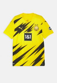 Puma - BVB BORUSSIA DORTMUND HOME REPLICA UNISEX - Club wear - cyber yellow/black - 0