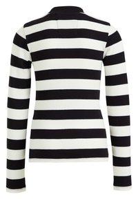 WE Fashion - ROLNEK - Long sleeved top - black - 4
