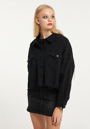 Džínová bunda - schwarz
