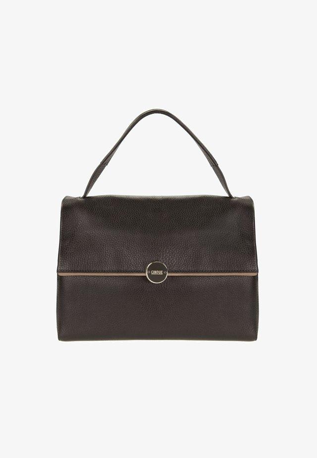 CARINA WITH FLAP - Handbag - black