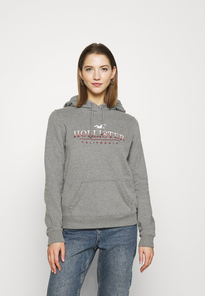 Hollister Co. - SECONDARY TECH CORE  - Hoodie - grey