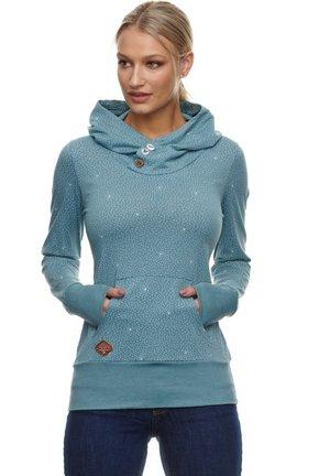 Hoodie - arctic blue