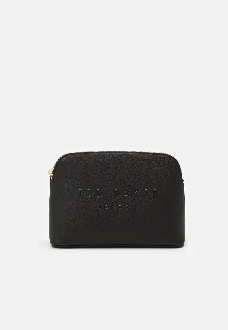 Ted Baker - CROSSHATCH DEBOSS MAKEUP BAG - Trousse de toilette - black