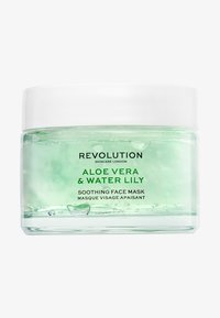 Revolution Skincare - REVOLUTION SKINCARE ALOE VERA & WATER-LILY SOOTHING FACE MASK - Masque visage - - - 0