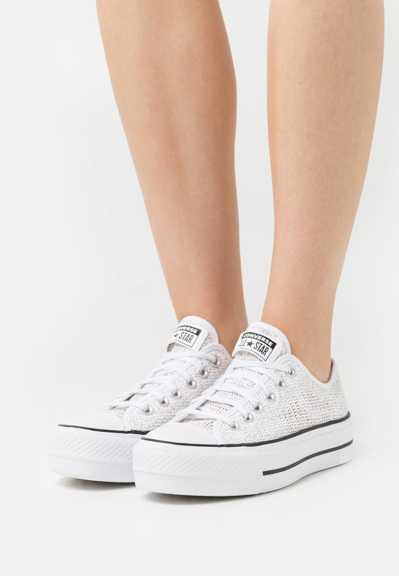 Converse - CHUCK TAYLOR ALL STAR OPEN PLATFORM - Trainers - white/black/white