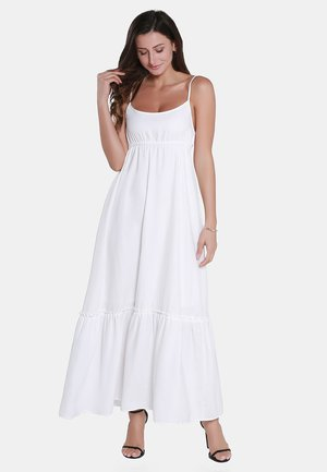 Maxi dress - woolen white