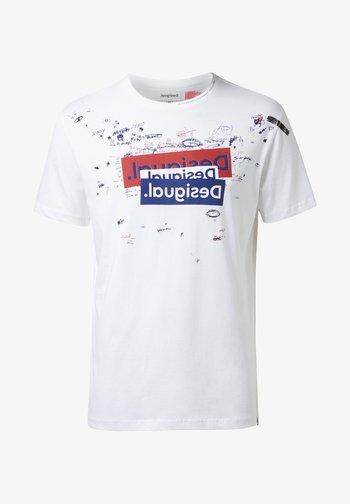 TS_CANAAN - Camiseta estampada - white