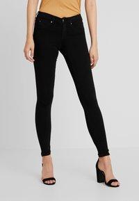 Gina Tricot - BONNIE - Jeans Skinny Fit - black - 0