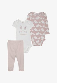 Carter's - LITTLE CHARACTER BABY SET - Body - pink - 6