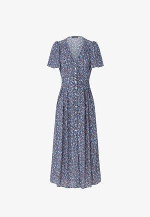 FLORAL  - Denní šaty - blue
