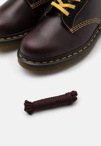 Dr. Martens - 1460 PASCAL UNISEX - Lace-up ankle boots - oxblood - 5