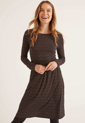 ABIGAIL - Jersey dress - black