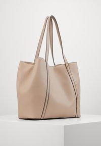 Anna Field - SHOPPING BAG / POUCH SET - Velká kabelka - beige - 3