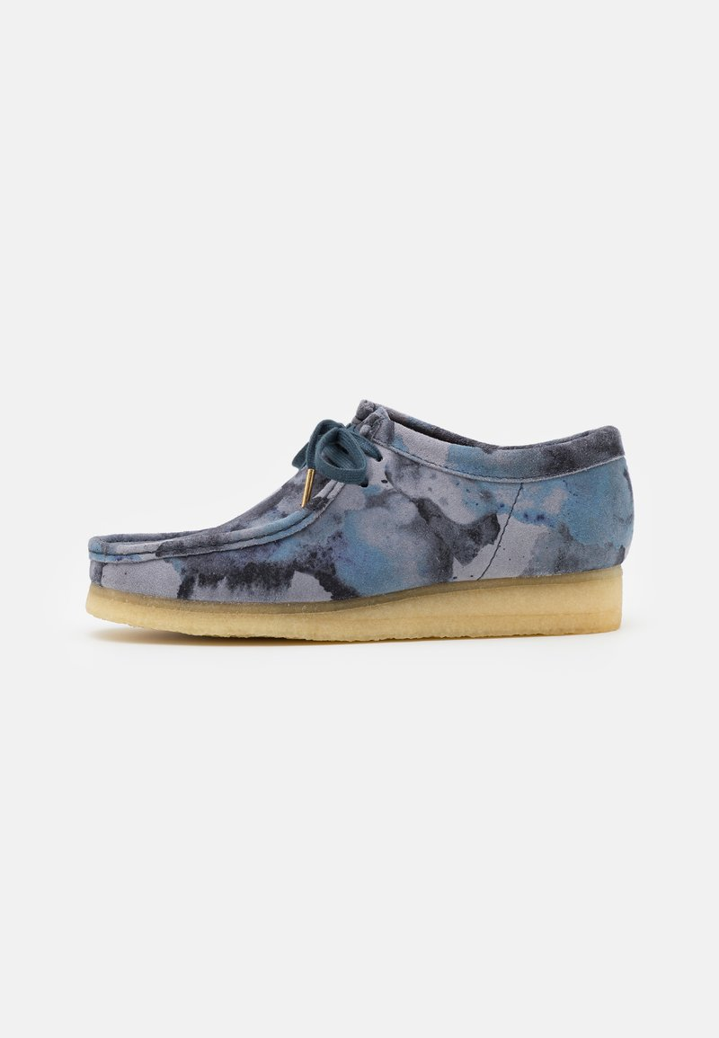 Clarks Originals - WALLABEE - Casual lace-ups - blue