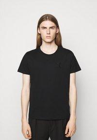 Iro - T-shirt imprimé - black - 2