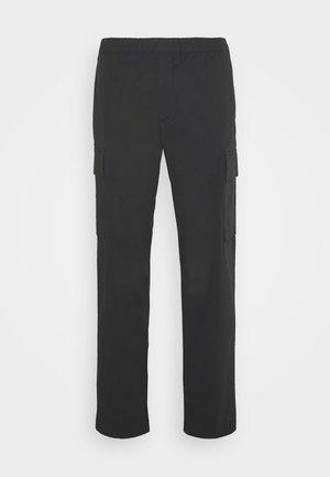 WILMAR - Cargo trousers - deep raven