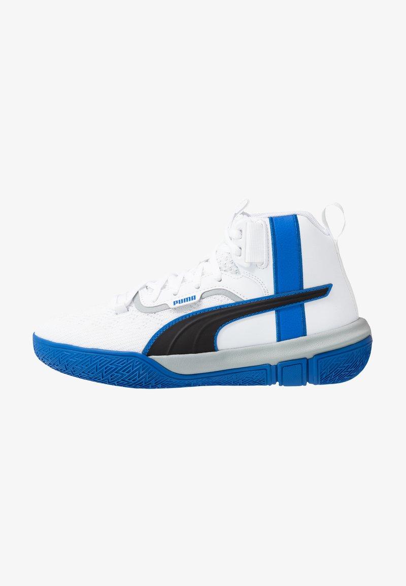Puma - LEGACY MADNESS - Basketball shoes - white/peacoat
