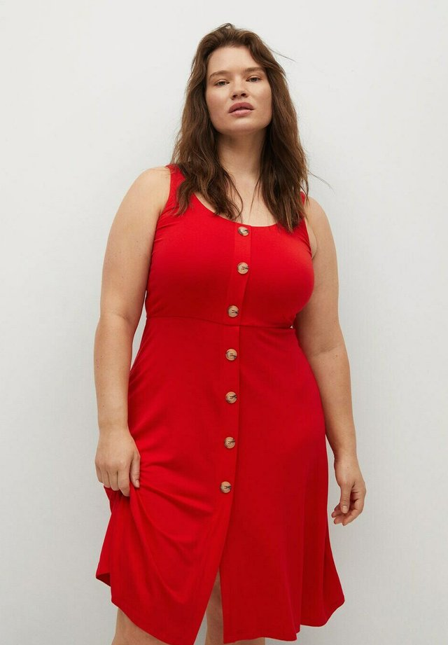 REMI - Shirt dress - rot