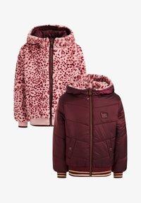 WE Fashion - Light jacket - burgundy red - 4