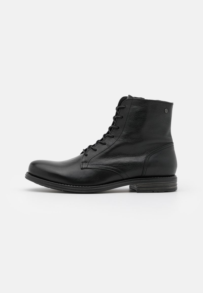 Sneaky Steve - SHANK - Lace-up ankle boots - black