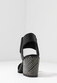 Sorel - NADIA - Sandals - black - 5