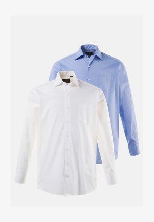 2 PACK - Zakelijk overhemd - blue/white