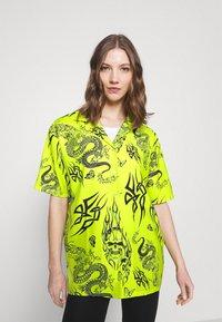NEW girl ORDER - SKULL DRAGON - Blouse - green - 0