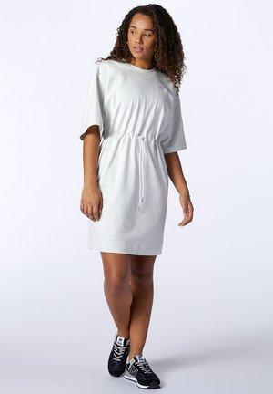 ATHLETICS  - Jersey dress - sea salt heather