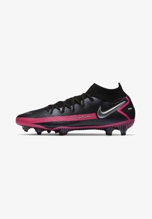 PHANTOM GT ELITE DY - Voetbalschoenen met kunststof noppen - black/pink blast/metallic silver