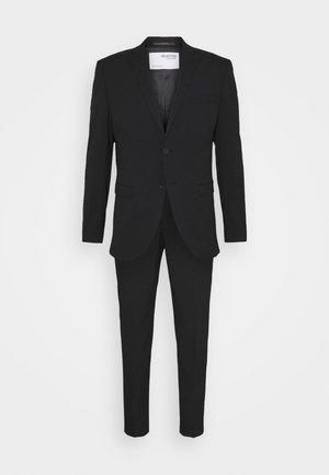 SLHSLIM MYLOLOGAN CROP SUIT - Suit - black