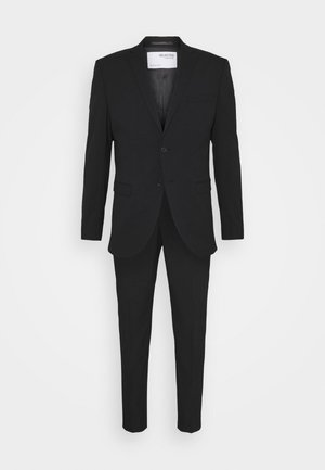 SLHSLIM MYLOLOGAN CROP SUIT - Oblek - black