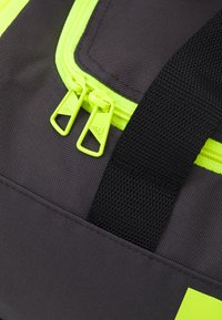 adidas Performance - 3S DUFFLE S - Sports bag - dgh solid grey/black/solar yellow - 3