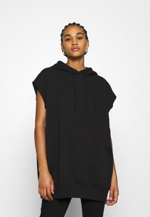 BECKY SLEEVELESS  - Hoodie - black dark