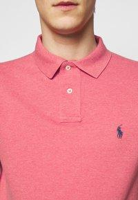 Polo Ralph Lauren - CUSTOM SLIM FIT MESH POLO - Polo shirt - highland rose - 4